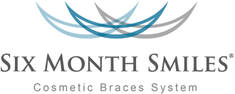6 Month Smiles clear braces (logo)